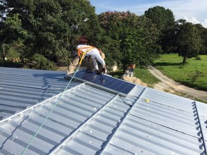 maintenance installation photovoltaique Auray